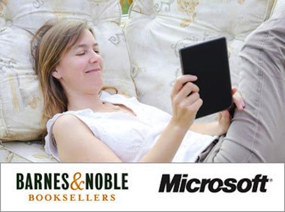 Microsoft invierte 300 millones de dólares en Barnes & Noble, una subsidiaria de libros electrónicos - bandn-msft_hero