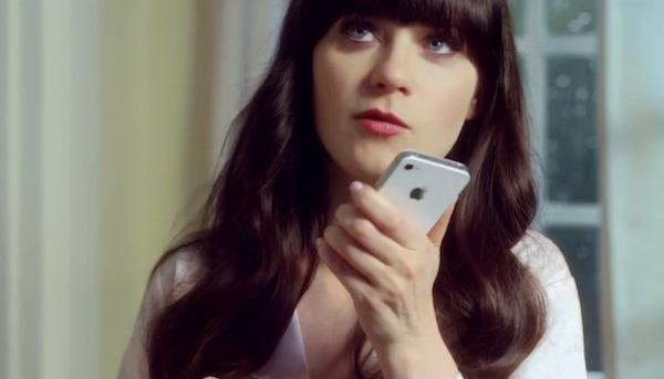 comercial siri zoey deschanel Apple lanza nuevos comerciales de Siri con Zoey Deschanel y Samuel L Jakcson