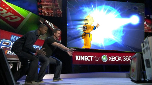 dragon ball z kinect Dragon Ball Z Kinect confirmado para Octubre