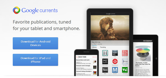Google Currents ya disponible en todo el mundo - google-currents-revista-digital-ios-android