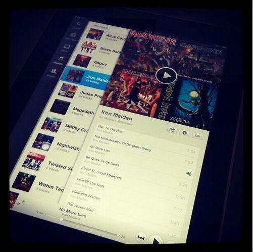 La aplicación de Spotify para iPad podría estar disponible dentro de poco - spotify-ipad-aplicacion