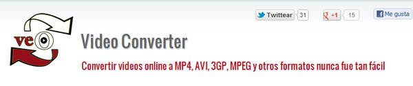 Veo Video Converter, sencillo y eficaz convertidor de videos - veo-video-converter