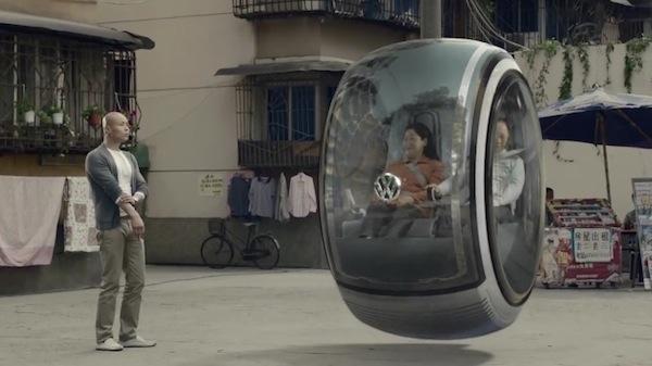 El auto volador del futuro de Volkswagen - Auto-volador-futuro-volkswagen