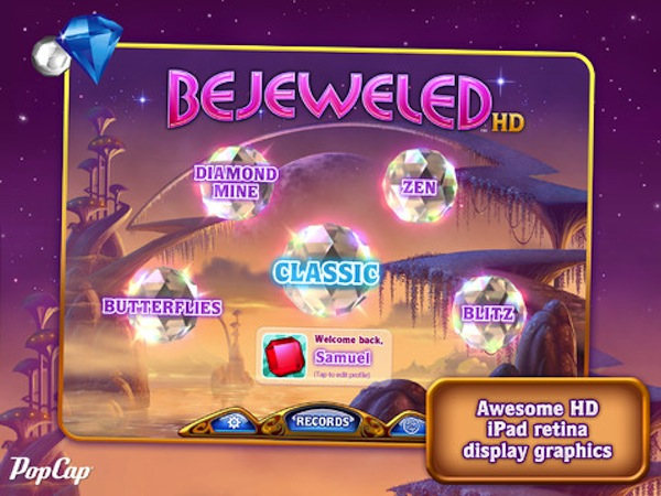 Bejewled HD para iPad por fin disponible - Bejewled-HD