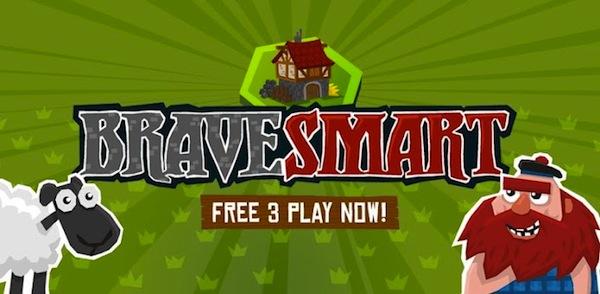 BraveSmart, un interesante juego de acertijos para iOS y Android - Brave-smart