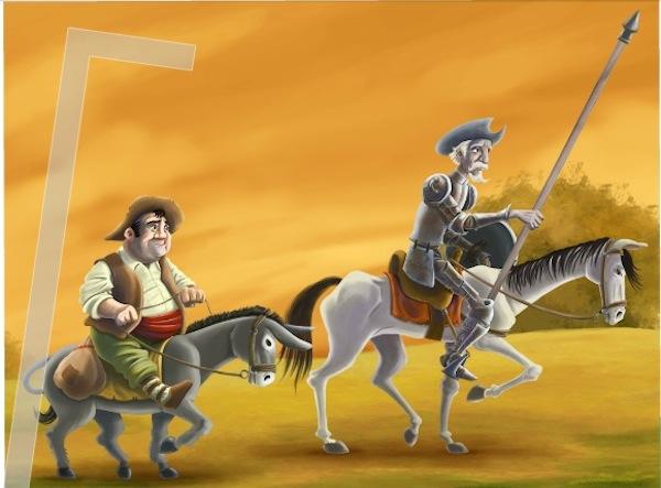 Don Quijote llega al iPad en forma de libro interactivo - Don-quixote-ipad-libro