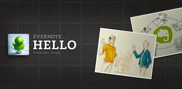 Evernote Hello para Android disponible para descargar - Evernote-Hello-Android