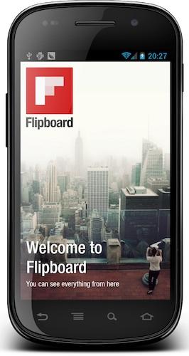 Flipboard para Android disponible para todos los dispositivos - Flipboard-android