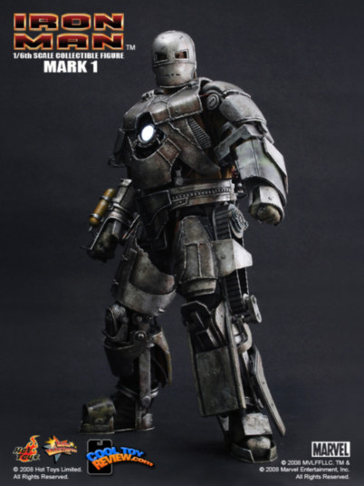Iron Man Mark I Las armaduras de Iron Man desde la Mark I hasta la Mark VII de The Avengers