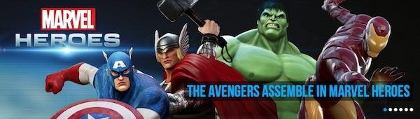 Primer tráiler del juego Marvel Heroes - Marvel-Heroes-games