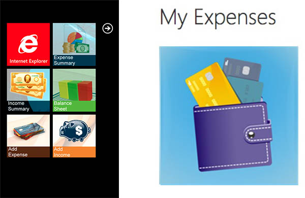 Controlar gastos y finanzas en tu celular - My-expenses-windows-phone