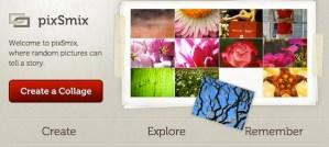 Crea collages según tu estado de ánimo con PixSmix