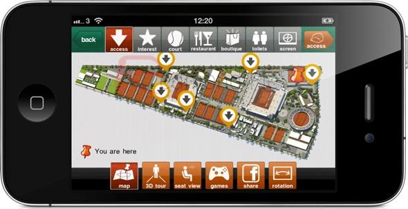 Sigue el Roland Garros en vivo desde tu smartphone - Roland-garros-app