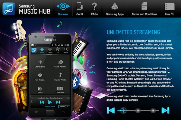 Music Hub, el servicio musical en streaming de Samsung - Samsung-music-hub