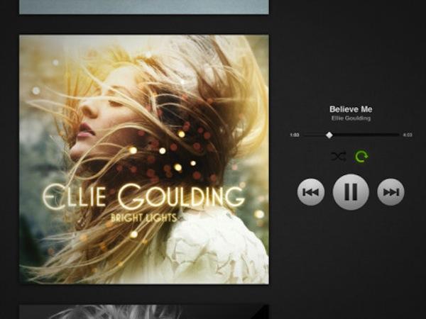 Aplicación de Spotify para iPad por fin disponible para descargar