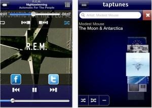 TapTunes, un reproductor musical para iOS diferente