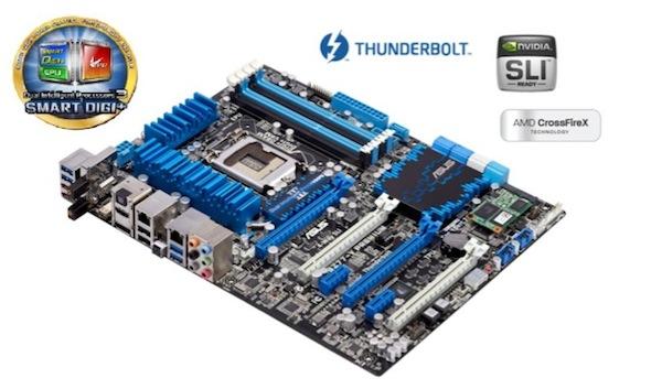 Asus P8Z77 V Premium, la primera tarjeta madre con soporte Thunderbolt - Tarjeta-madre-asus-p8z77-v-premium