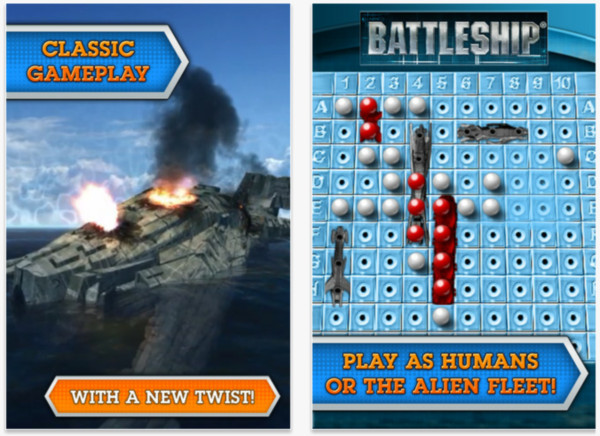 Battleship para iPhone está disponible y no es cómo lo imaginas - battleship