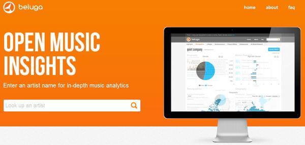 Grooveshark lanza herramienta para medir estadísticas de uso - beluga
