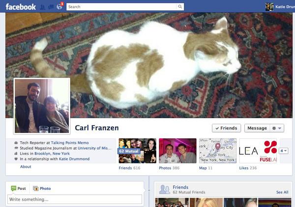 Facebook estaría probando un rediseño de su Biografía - facebook-old-timeline-full