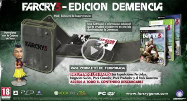 Far Cry 3 anuncia su Insane Edition con un tráiler - far-cry-demencia