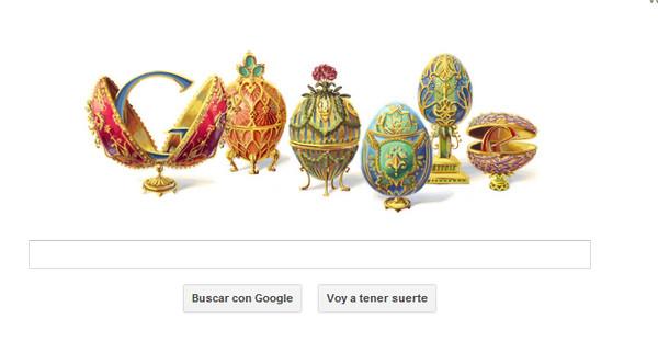 Google y su Doodle de hoy dedicado a Peter Carl Fabergé - google-doodle-faberge