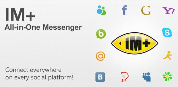 Abrir messenger desde el celular - im+