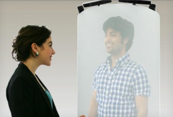 Kinect es usado para realizar videollamadas con proyecciones en 3D - kinect-hologram-590x400