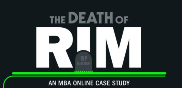 la muerte rim infografia La muerte de RIM [Infografía]