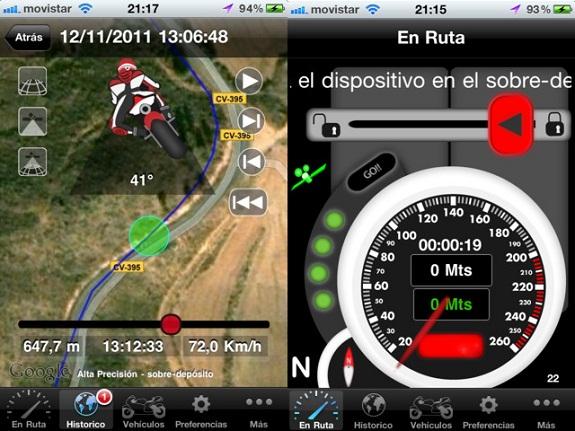 Moto Sport Telemetry Tracker, tu app y copiloto en motocicleta - motosport-telemetry