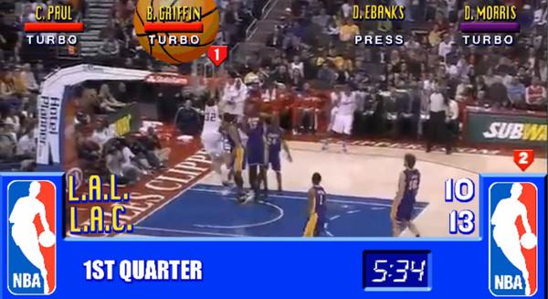 Blake Griffin de la NBA al mas puro estilo NBA Jam - nba-jam-real