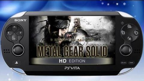 Metal Gear HD Collection para PS Vita confirmado - ps-vita-metal-gear-solid-hd-collection