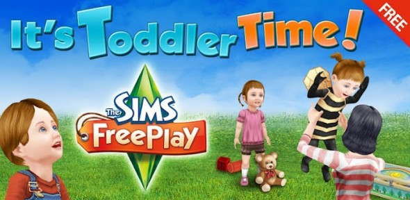 The Sims FreePlay se actualiza con interesantes agregados para tus bebés - sims-freeplay-590x288