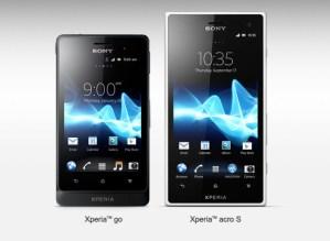 Sony anuncia dos nuevos modelos de Xperia