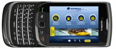 Aeromexico movil bb Aeroméxico lanza su aplicación oficial para BlackBerry