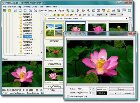 Fastone Image Viewer, limpio y ligero visor de fotos para Windows - FSViewerScreenShot1