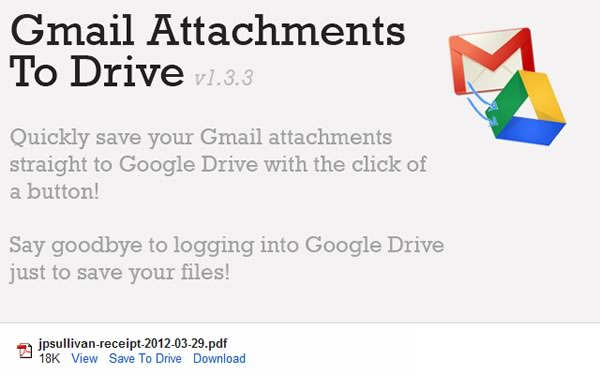 Gmail Attachments To Drive Guardar adjuntos de Gmail directo a Google Drive desde Chrome