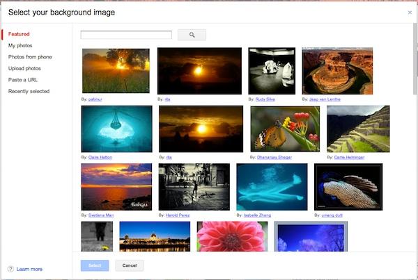 Google agrega la función de elegir una foto como fondo para Gmail - Gmail-fondo-foto
