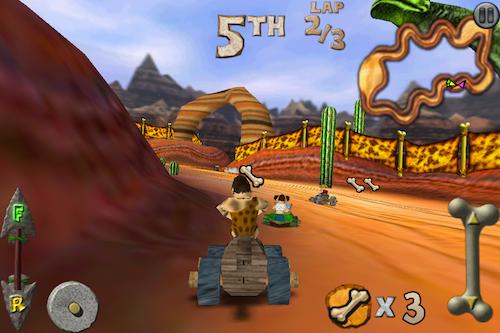 Cro-Mag Rally, un juego al estilo Mario Kart en tu iPhone/iPod - IMG_2502