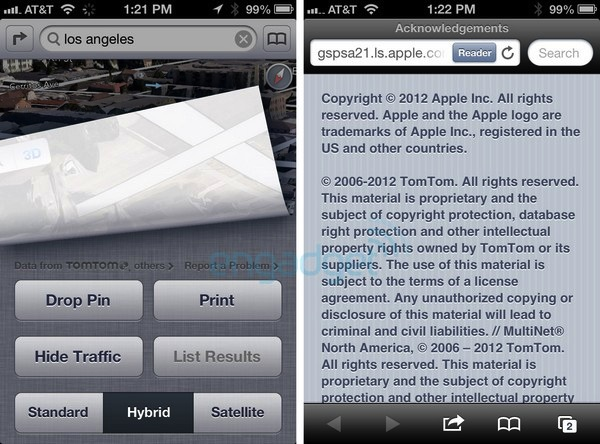 Los Mapas de iOS 6 estarán respaldados por Tom Tom