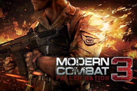 Modern Combat 3 Buenas Apps para iPhone en Descuento Junio 22