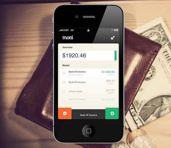 Moni, una sencilla y útil app para administrar gastos personales - Moni-iphone