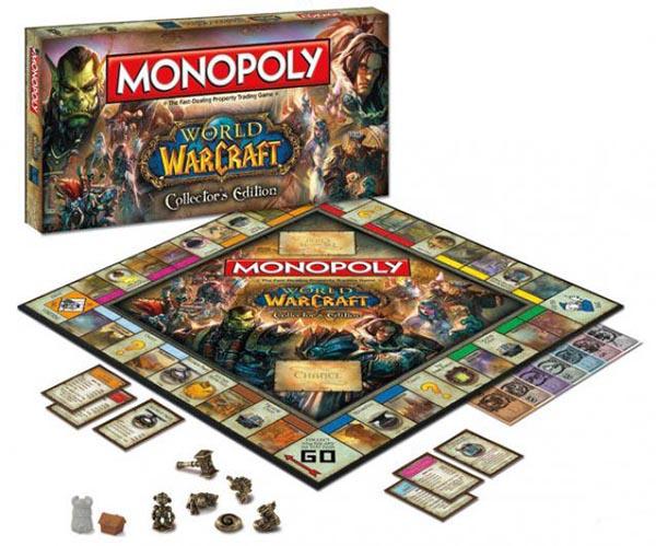 Monopoly de World of Warcraft ya se puede comprar desde la Blizzard Store - Monopoly-Word-of-warcraft