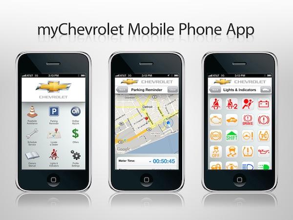 Chevrolet presenta su aplicación oficial para iOS y Android para tener el control total de tu auto - MyChevrolet-app