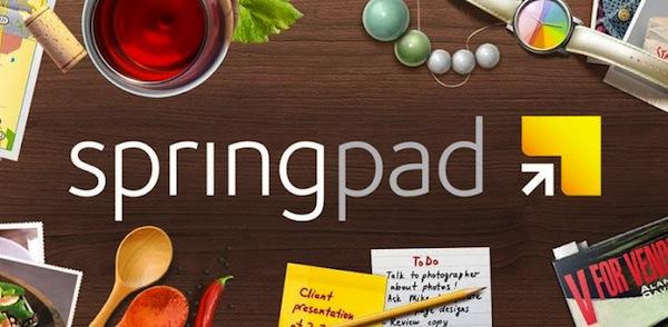Springpad, la aplicación para organizar notas y tareas se renueva con nuevas funciones - Springpad