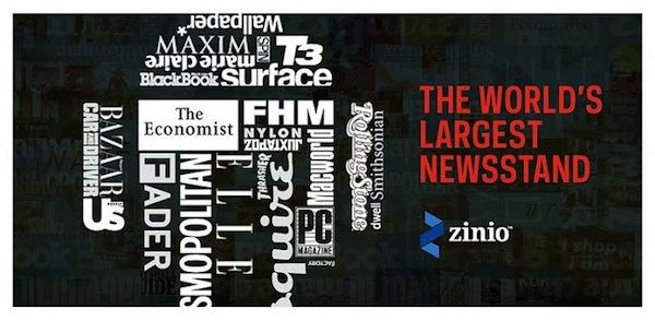 Zinio, una genial aplicación para explorar, leer y comprar libros y revistas - Zinio
