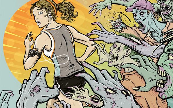 Salte a correr con ZOMBIES, RUN!, divertida aplicación para iOS - Zombies-2