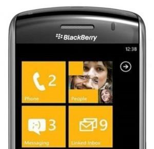 RIM y Microsoft podrían hacer un acuerdo para ofrecer equipos BlackBerry con Windows Phone - blackberry-windows-phone-300x291