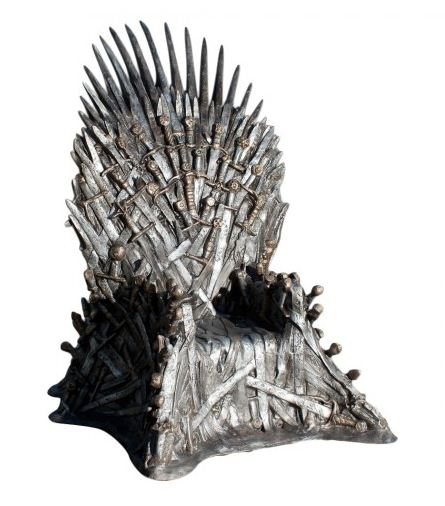 Venden réplica del Trono de Hierro de Game of Thrones en 30 mil dolares - chair