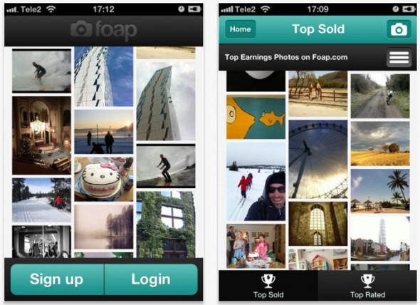 Gana dinero con las fotos de tu iPhone gracias a la nueva aplicación Foap - foap-fotos-iphone-590x428